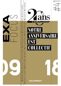 Exafocus #41 : Notre anniversaire est collectif